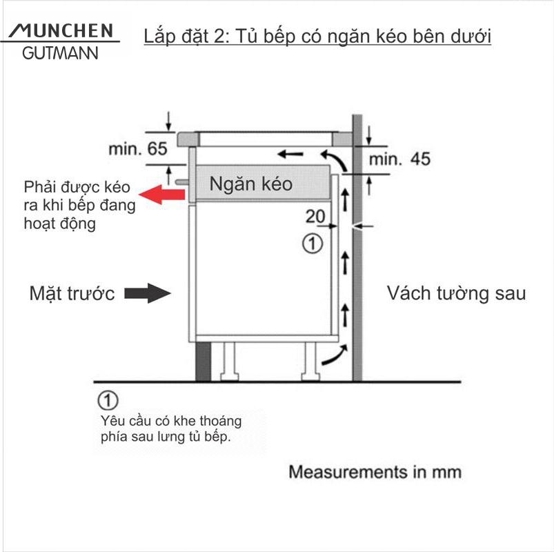 Bếp cảm ứng từ GM8226 ( Dòng sản phẩm Standard - Đức )
