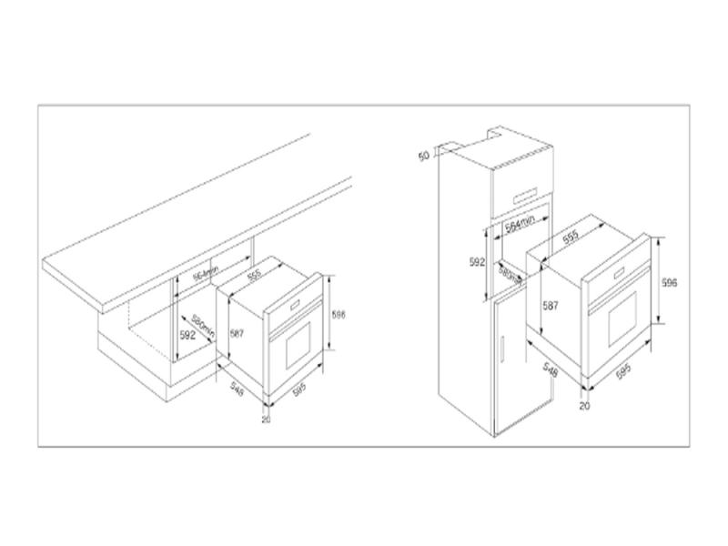 Lò nướng ML 60 (Hệ thống điện tử siêu chính xác)